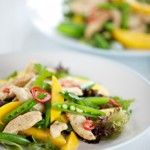 Chicken Mango Salad – with a dash of lime