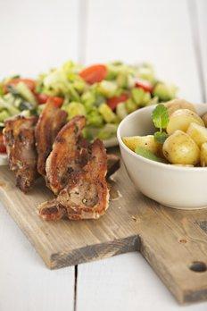 518 Lamb chops feature