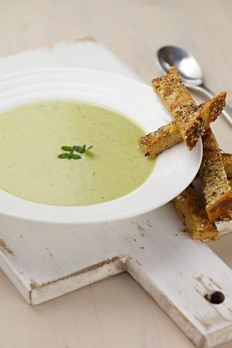 leek and pea soup recipe