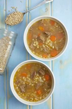 577 Beef & Barley Broth featured