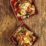 Halloumi with roast veg recipe