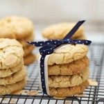almond cookies with white choc chips recipe