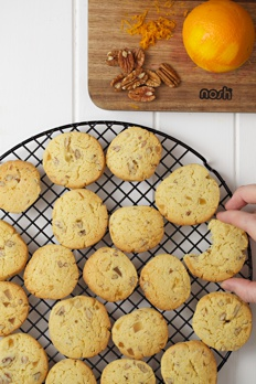 orange and ginger cookies Recipe