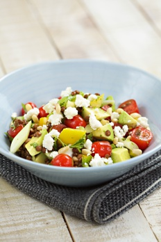 Avocado and Puy Lentil Salad Recipe