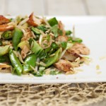 Warm Asian Salmon Salad Recipe