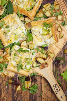 Smoked Haddock and Leek Tart Recipe