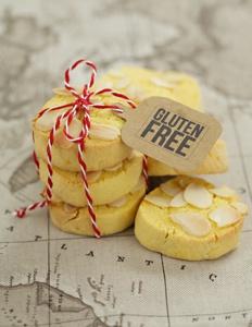 Gluten Free Orange cookies with Polenta