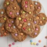 Smartie Oatty Cookies Recipe