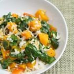 Squash and Spinach Risotto Recipe