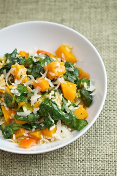butternut squash and spinach rosotto recipe