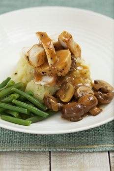 Pan Roasted Marsala Chicken recipe