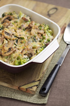 Tagliatelle tuna bake recipe with mushrooms and broccoli Tuna and philadelphia pasta