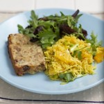 Fennel and Chestnut Loaf Recipe with orange and herb salad