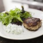 Mediterranean Lamb Burger and Tzatziki Recipe