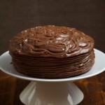 Gluten Free Chocolate Cake Recipe with chocolate ganache topping