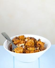 beefy pasta bake student recipe