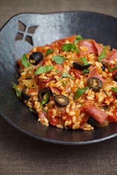 Italian risotto napoletana reci