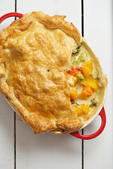 Butternut Squash and Brocolli Pie recipe