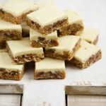 White Chocolate Tiffin with figs and sultanas