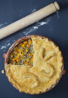 Lamb Pie Recipe with built in veg