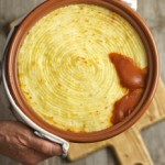 Shepherds Pie with cheesy parsnip mash