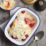 Pear & Raspberry Coconut Crumble