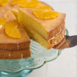 Orange & Lemon Polenta Cake