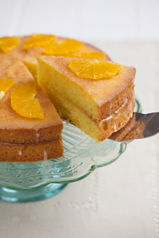 1704 orange and lemon polenta cake feature