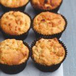 Sugar-free, Gluten-free Honey Apple Muffins
