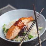 Gluten-free Honey and Mirin Salmon