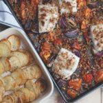 Easy Roast Fish Tray